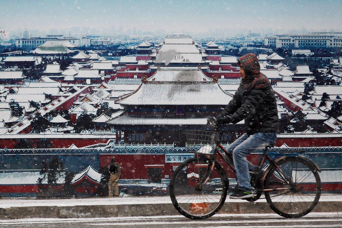 Императорский дворец, или Запретный город, — это пример традиционной китайской дворцовой архитектуры