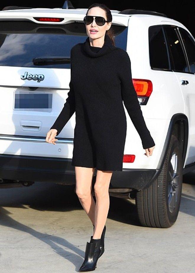 Анджелина Джоли удивила выходом в мини
