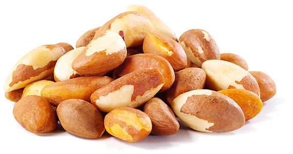 7. Бразильский орех   Самым вкусным орехом по праву считается бразильский орех. Его используют