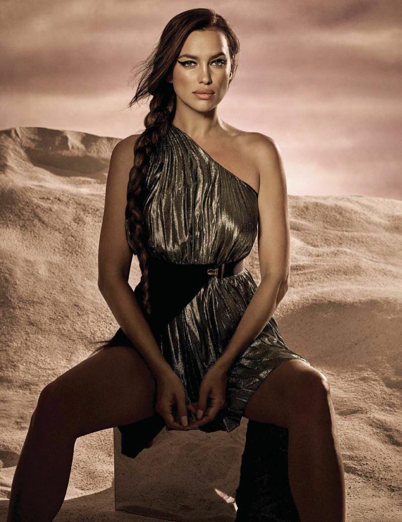 Ирина Шейк в мексиканском Vogue
