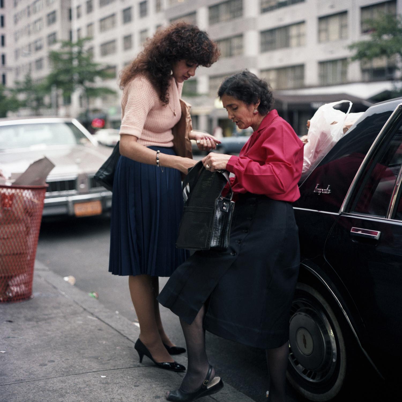 Мать и дочь, 1985