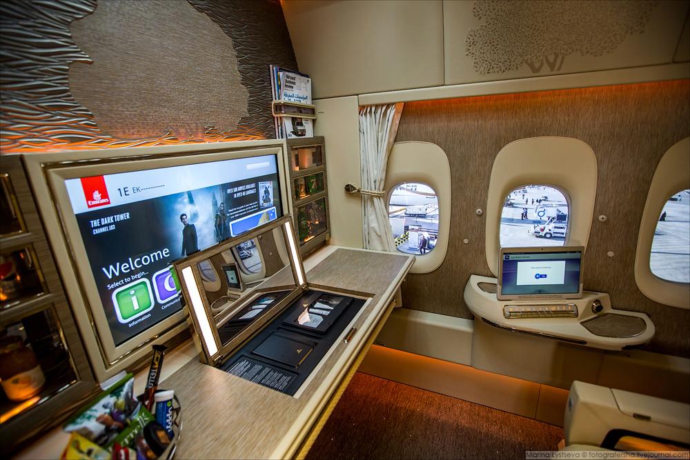 А у тех, чьи кабинки находятся в центре салона, будут виртуальные окна, на которые в реальном времен