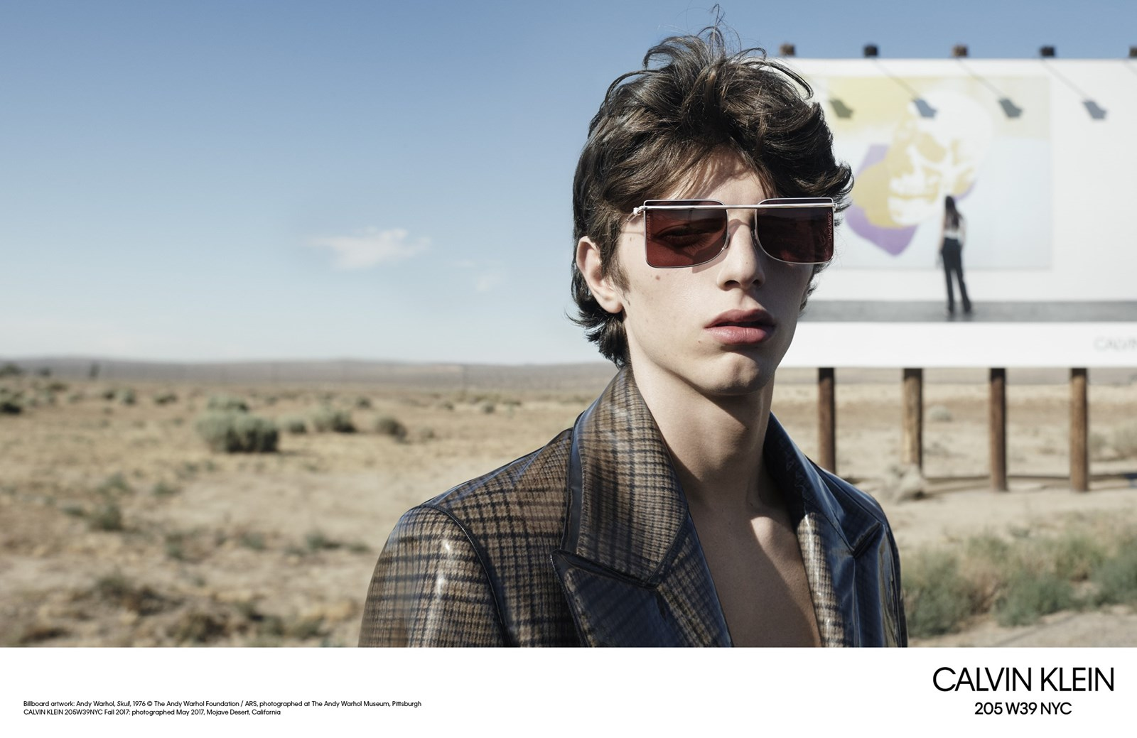 Raf Simons First Campaign for Calvin Klein