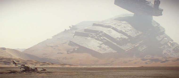 Star Wars VII : The Force Awakens – Awesome new teaser!