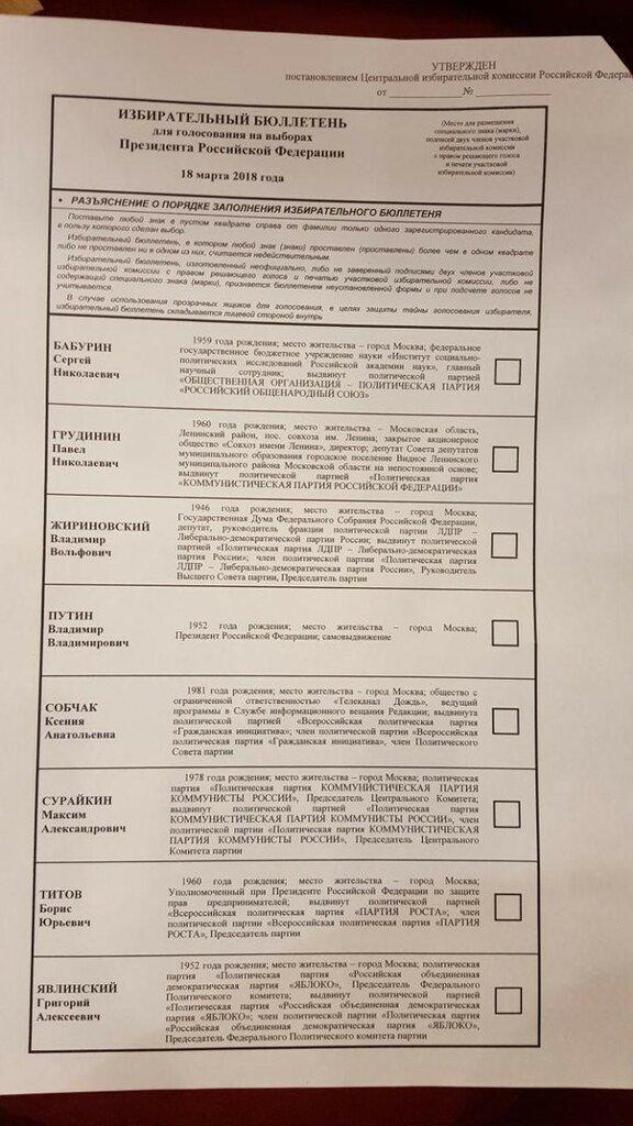 Выборы президента: голосуем или бойкотируем?