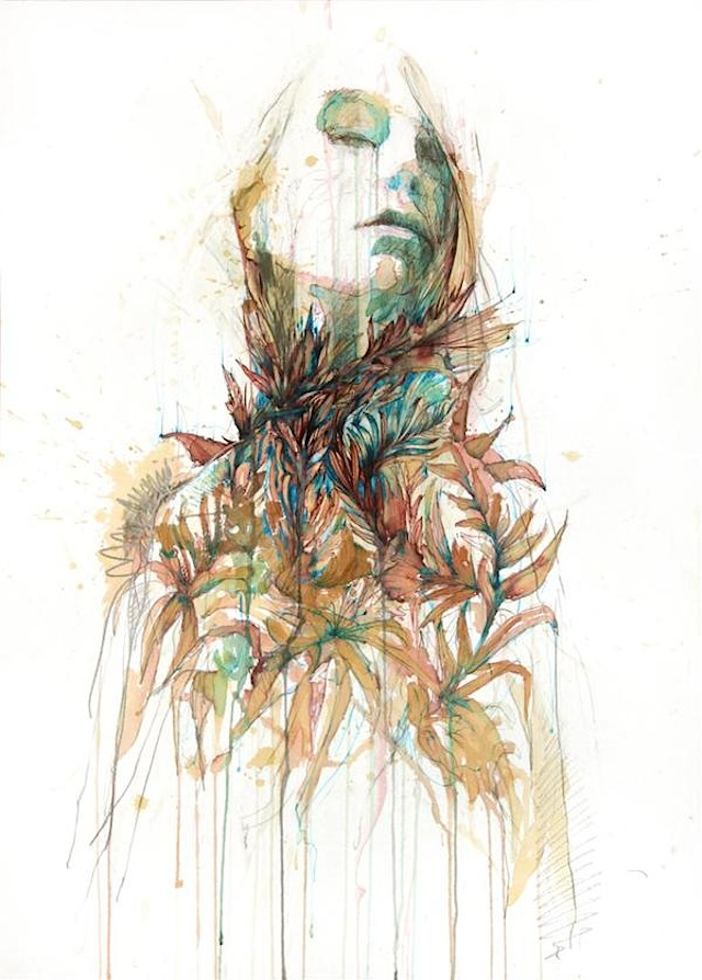 Vodka, Whiskey, Tea and Ink - Carne Griffiths