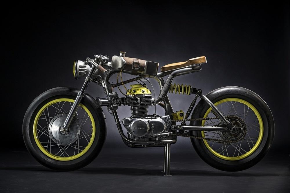 Titan Motorcycles: кастом Honda CB350 One