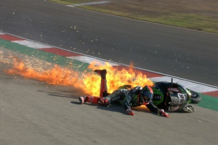 Портимао, этап 10: жесткое падение Тома Сайкса в FP3