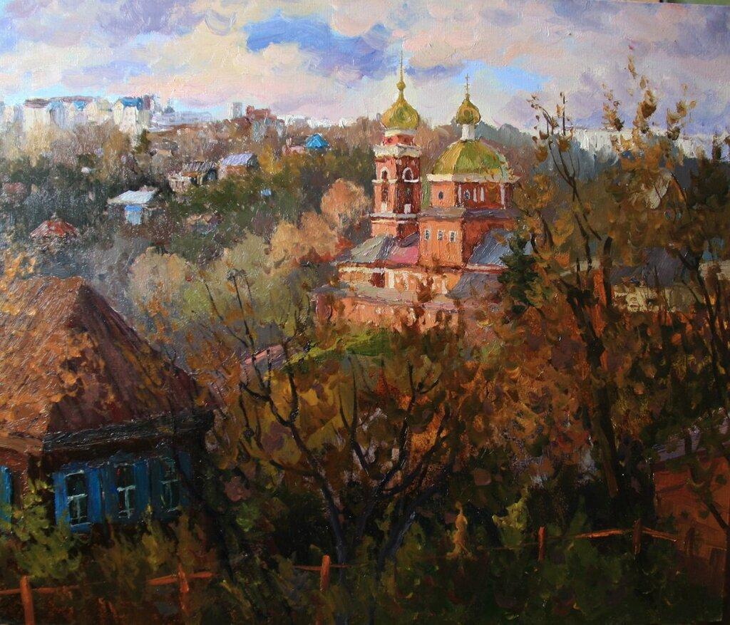 Ралиф Ахметшин . Уфа- Церковь Покрова Святой Богородицы