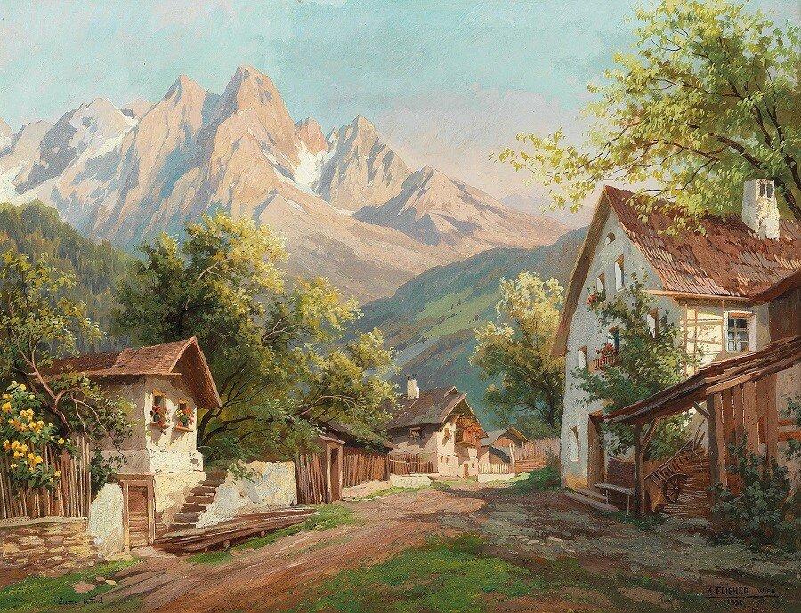 Zams in Tyrol , 1931