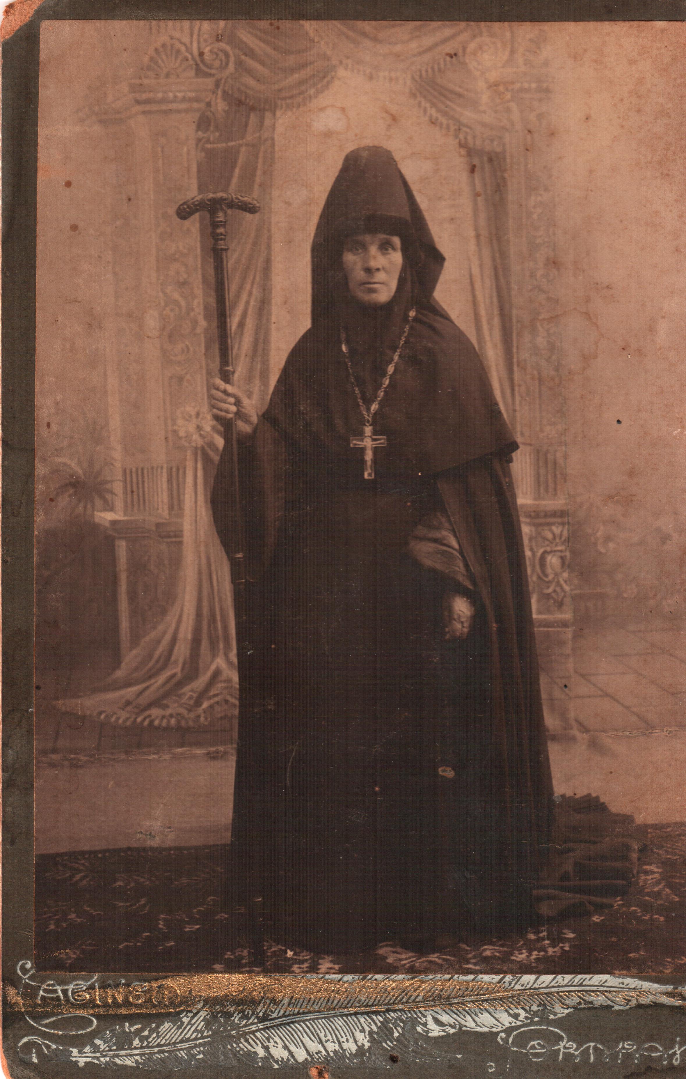 Игуменья Глафира. 1910