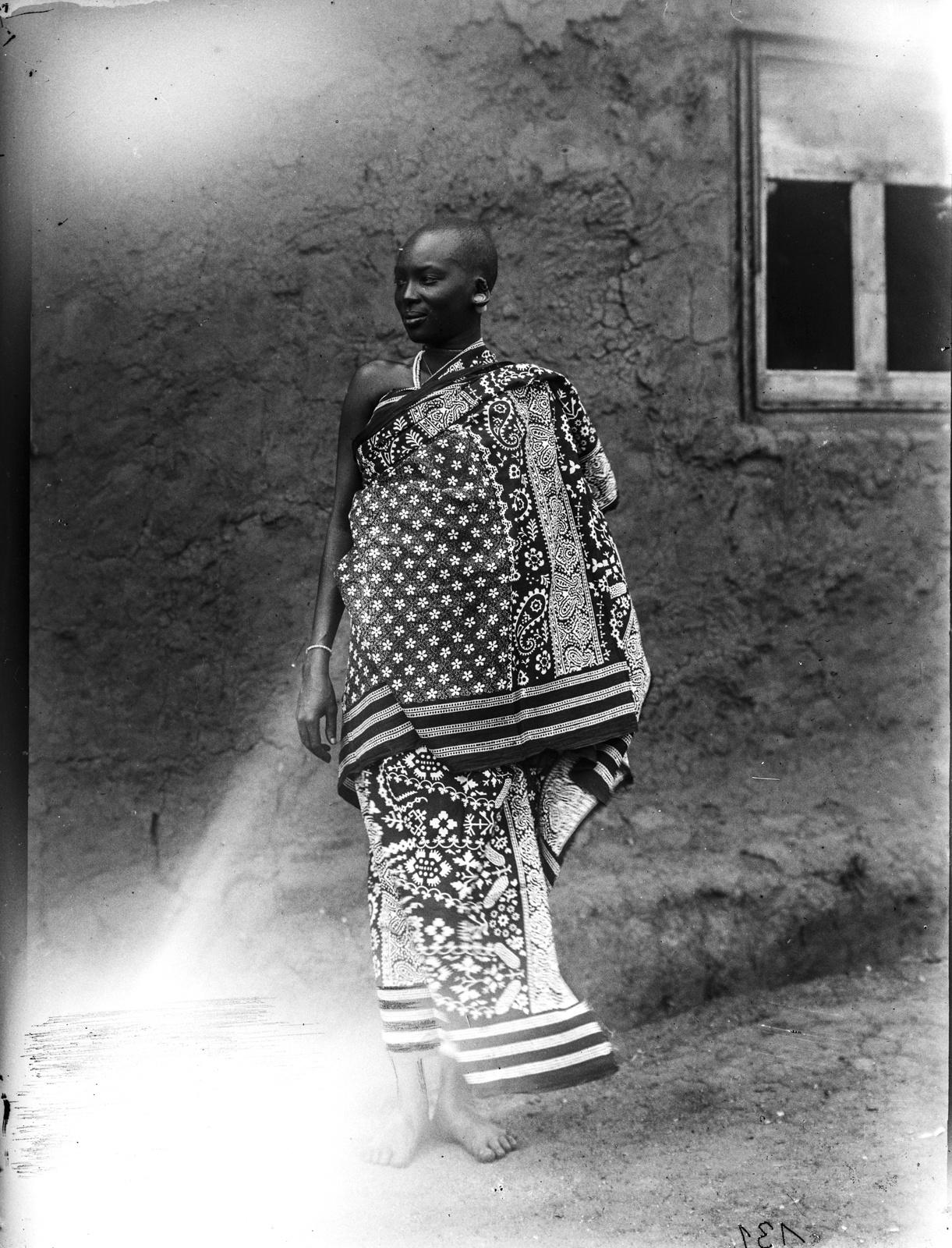 57. Женщина масаи