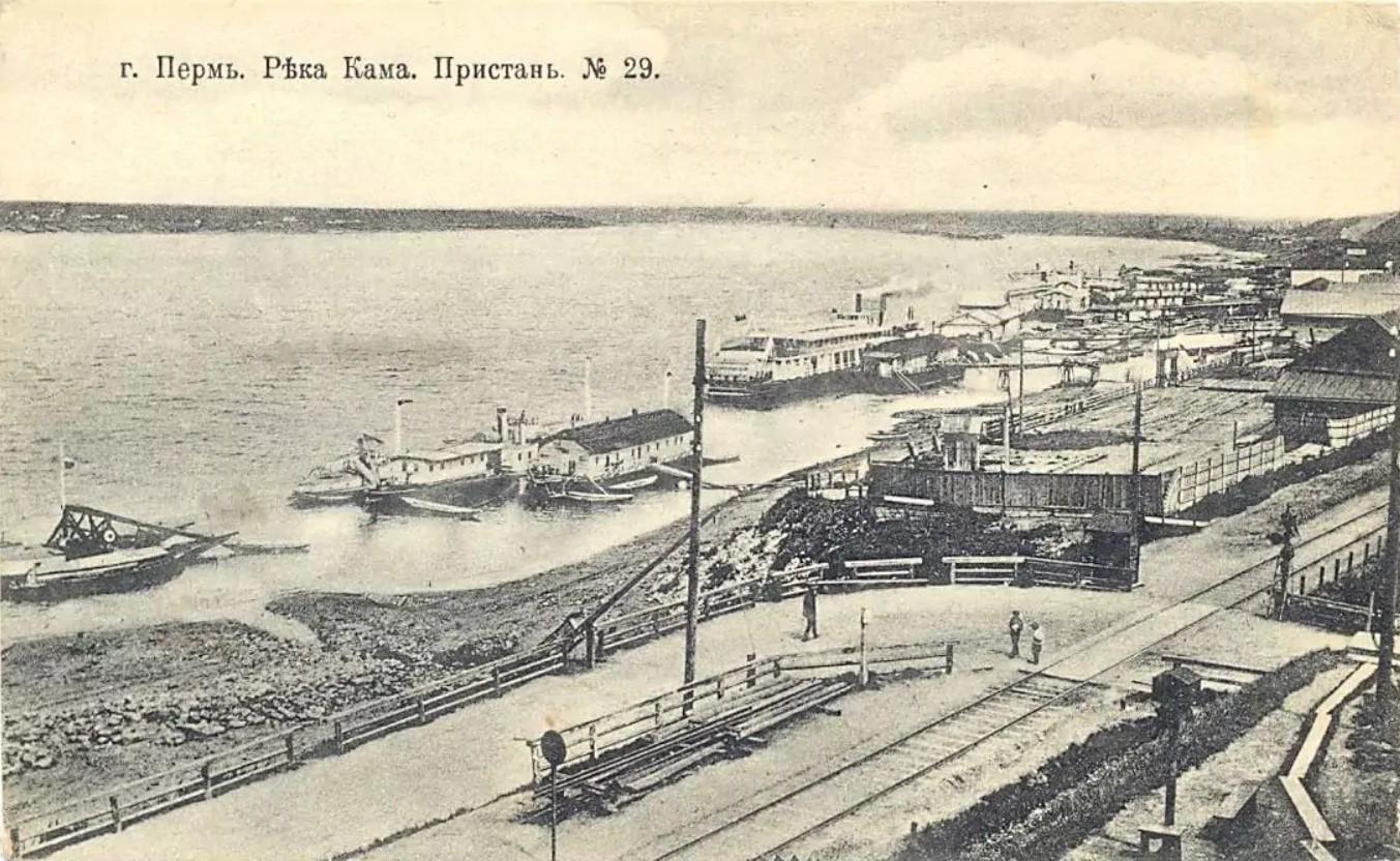 Пристани на реке Каме