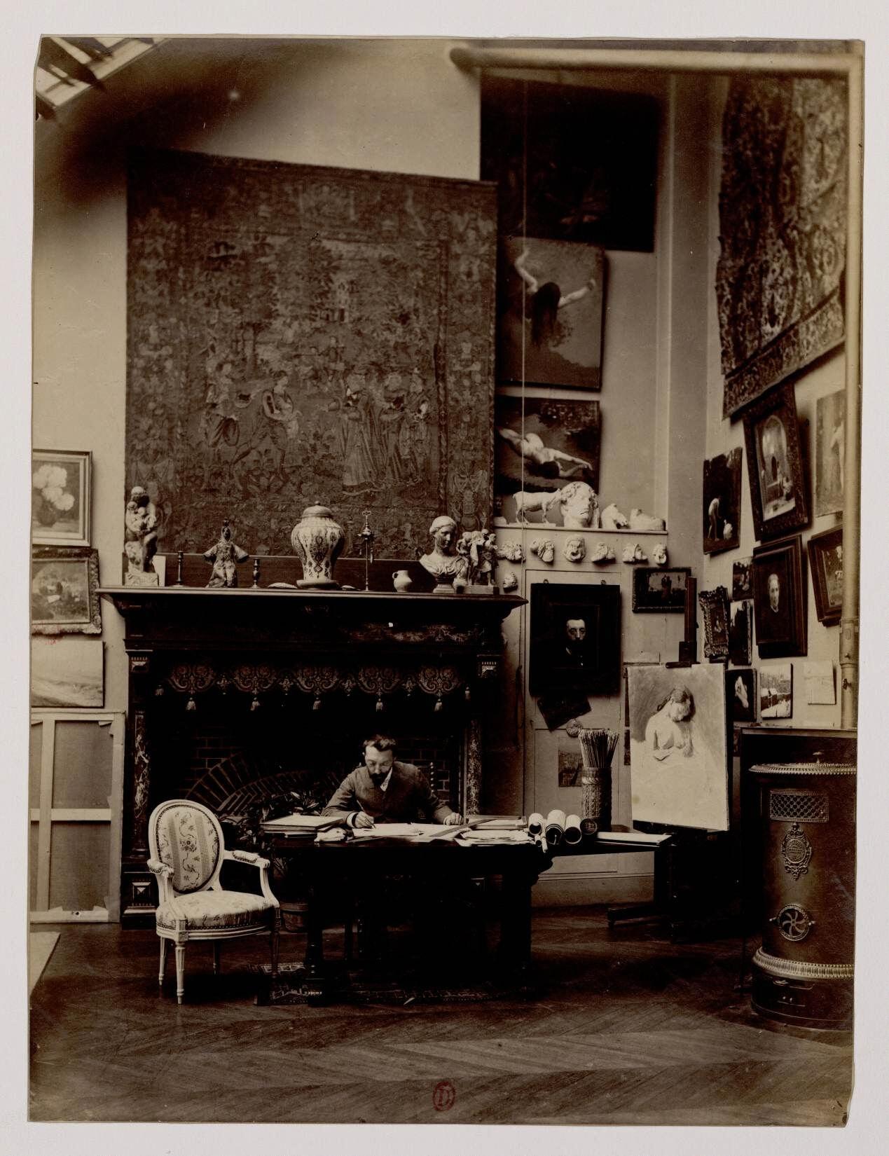 Жан Андре Риксен (1846-1924) - французский художник