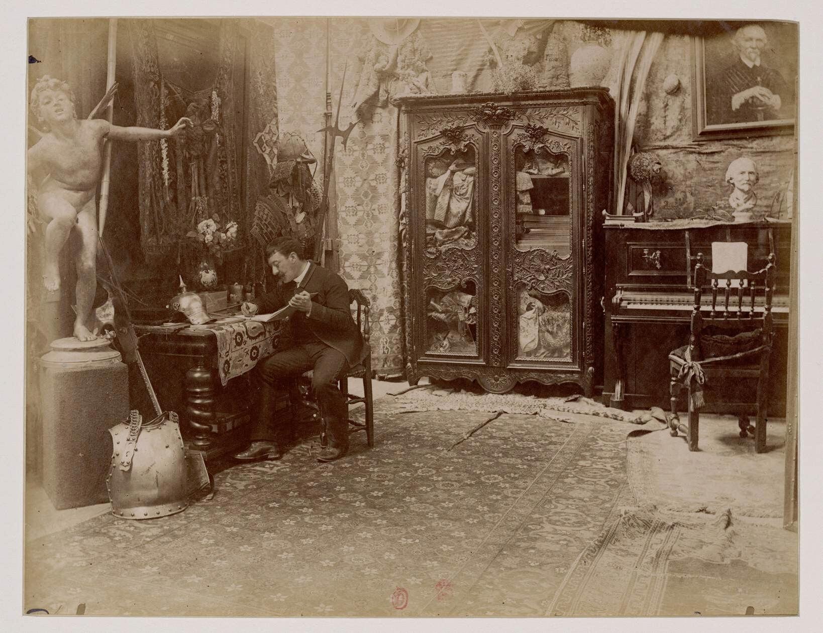 Эме-Николя Моро (1850-1913) - французский живописец в академическом художественном стиле
