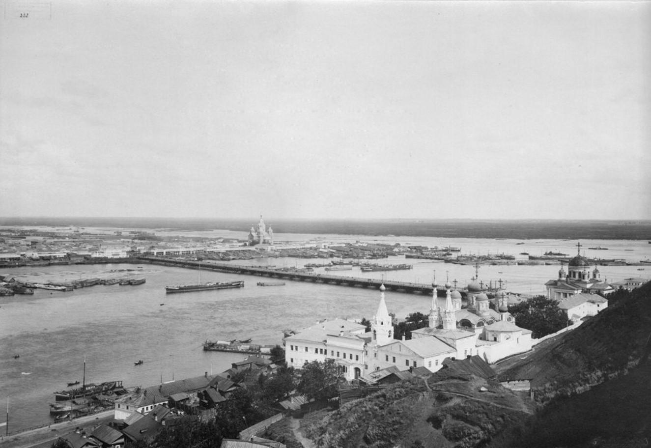 Общий вид Нижнего Новгорода с Гребешка