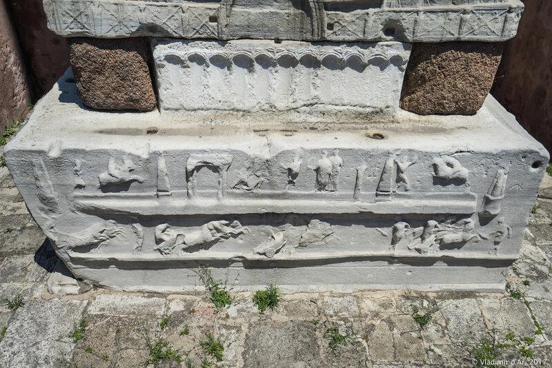 Обелиск Феодосия. Стамбул.