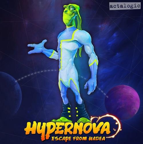 HYPERNOVA: Escape from Hadea (2017/ENG)
