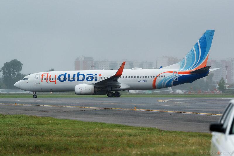Boeing 737-8KN (A6-FEE) Flydubai 0089_D804437