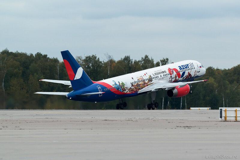 Boeing 757-28A (VP-BLV) Azur Air 0154_D805547
