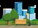 City street vector graphics