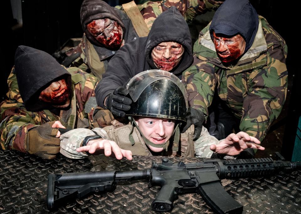 Британцы готовятся к зомби-апокалипсису