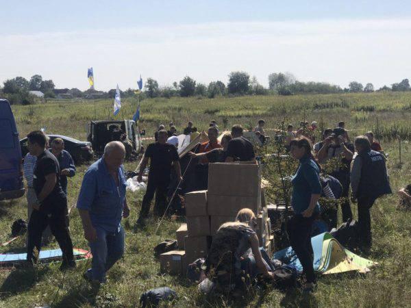 Не исключен силовой разгон лагеря сторонников Саакашвили ночью — источника в полиции (ВИДЕО) — РНС