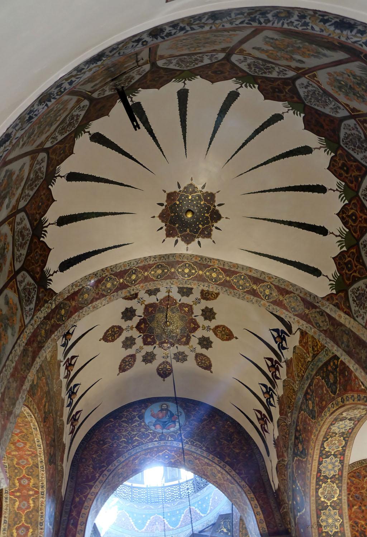 Эчмиадзинский монастырь, Армения, храм, своды