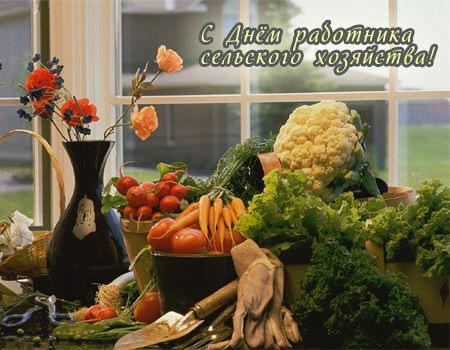 С Днем работников сельского хозяйства. Дары осени