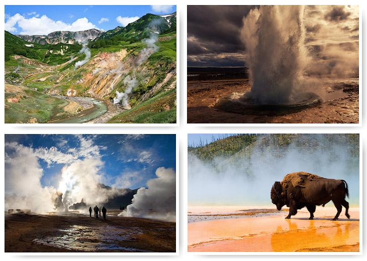 Самые известные гейзерные поля мира (22 фото)