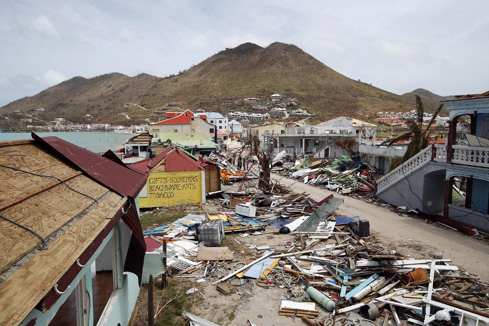 7. 25 процентов всех домов на архипелаге Флорида-Кис были разрушены. (Фото Matt McClain):