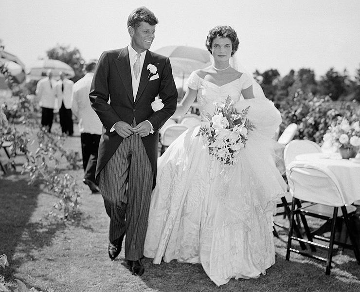 Жаклин Кеннеди не нравилось ее свадебное платье   Свадебное платье для Джеки сшил