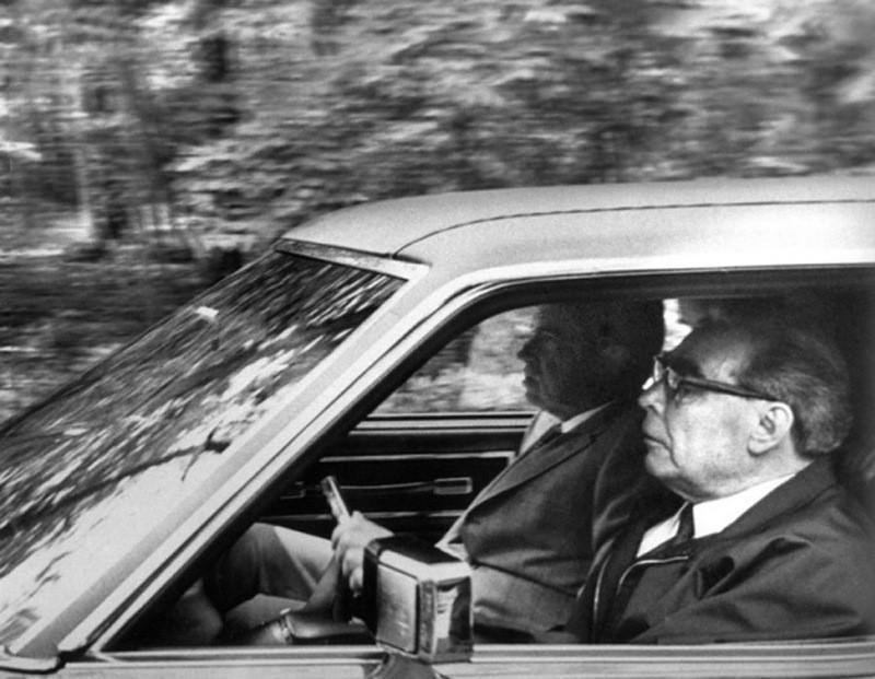 По воспоминаниям современников, Брежнев имел пристрастие к автомобилям и быстрой езде. По разным дан