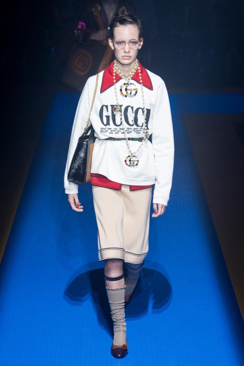 Gucci весна 2018 (24 фото)