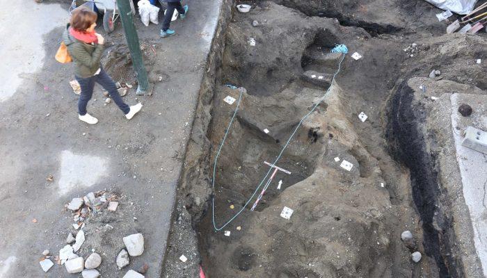 При проведении земляных работ на рыночной площади в городе Тронхем археологами была сделана интересн