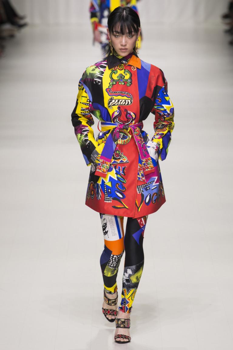Супермодели 90-х на показе Versace