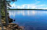 Онежское озеро.Чёлмужская коса.