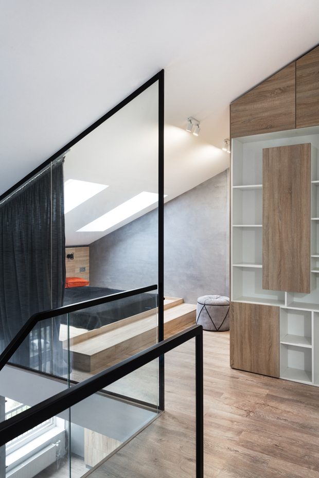Discover this two-level apartments by  MARTIN Architects,  located in LCD White Choco