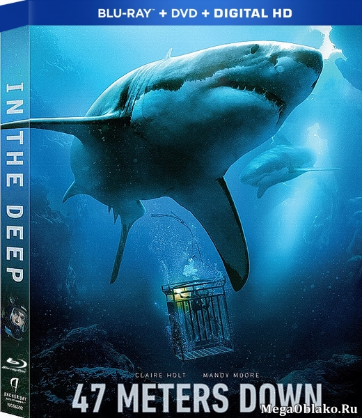 Синяя бездна / 47 Meters Down (2016/BDRip/HDRip)