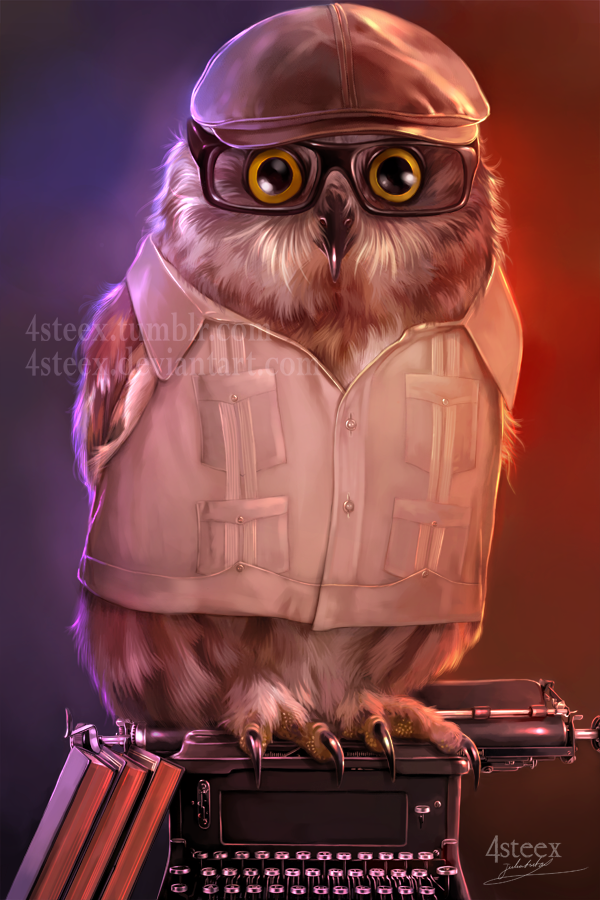 Super Owly Illustrations by Julia