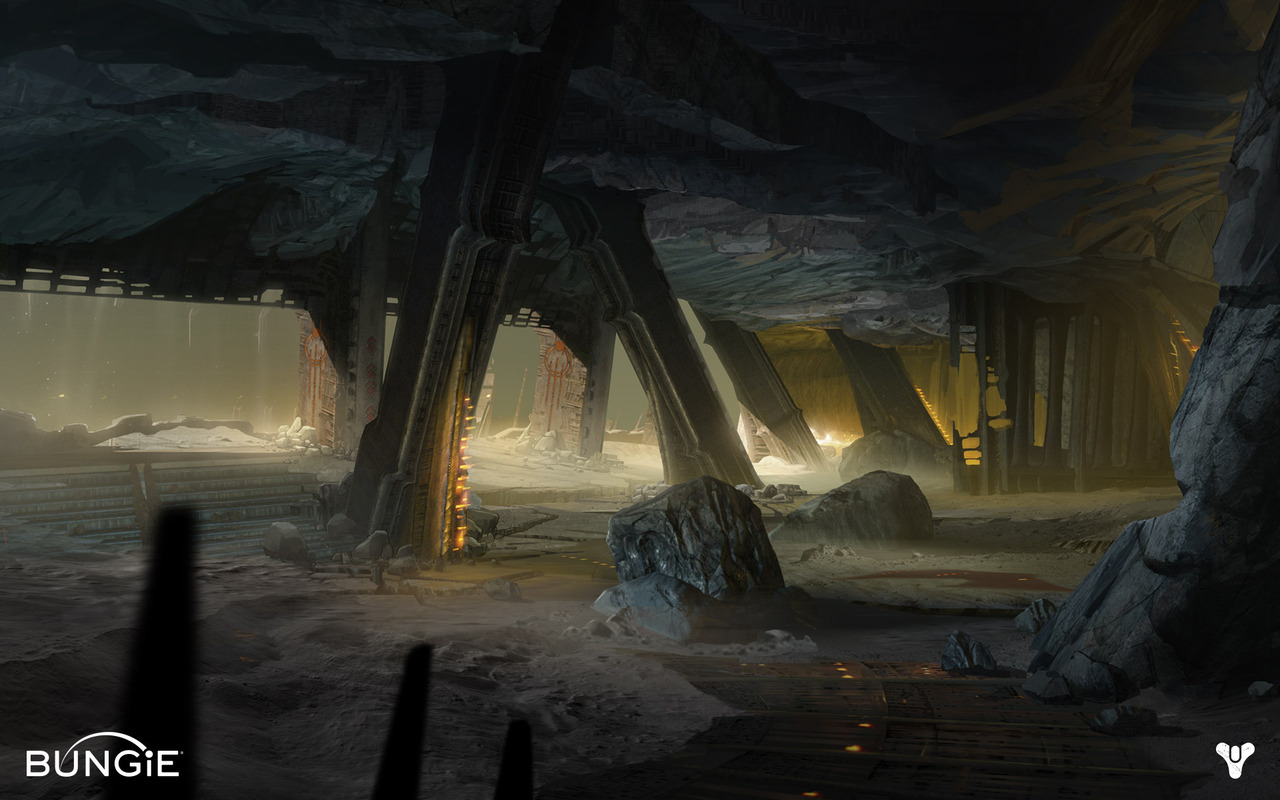 Destiny Concept Art by Darren Bacon