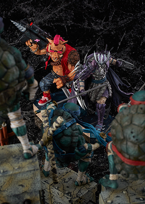 Releases: James Jean - TMNT Villains Figures