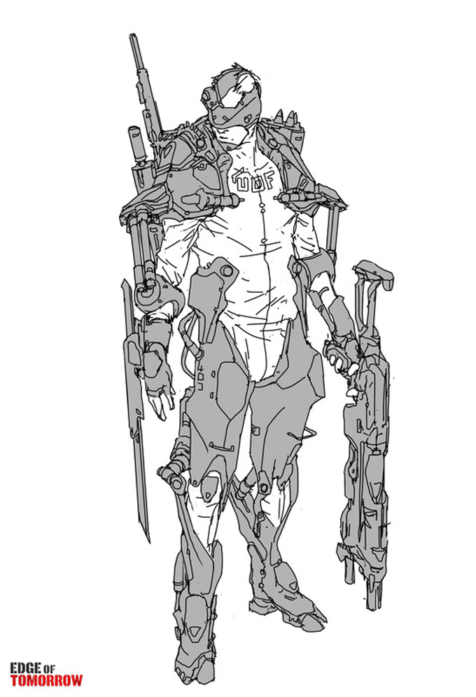 Edge of Tomorrow Concept Art by Jon McCoy