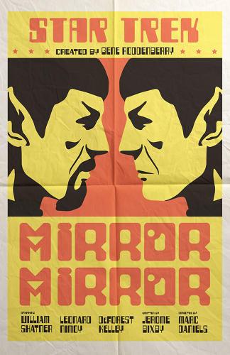Star Trek Episodes Re-imagined As Movie Posters - Juan Ortiz
