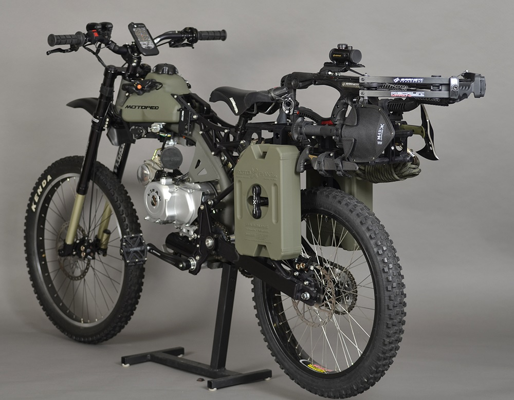 Мопед Motoped Survival