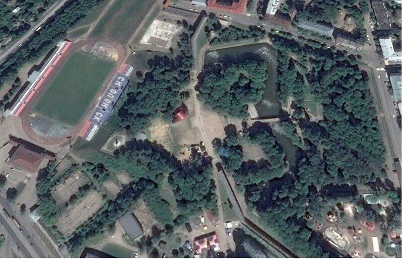 Королевский бастион (google maps)