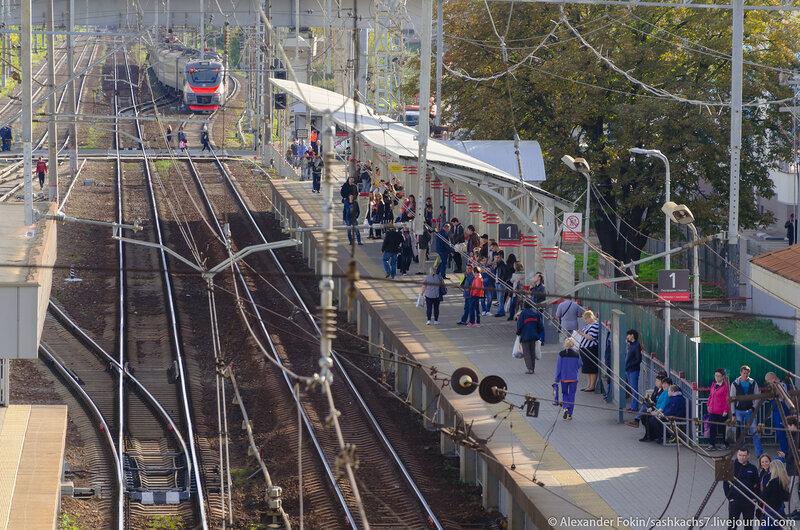 Как выглядит станция Щербинка, сейчас!