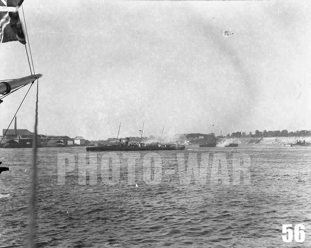 56. Миноносец №131, типа Анакрия, один из десяти кораблей такого типа, построенных в рамках судостроительной программы на 1882-1902 гг
