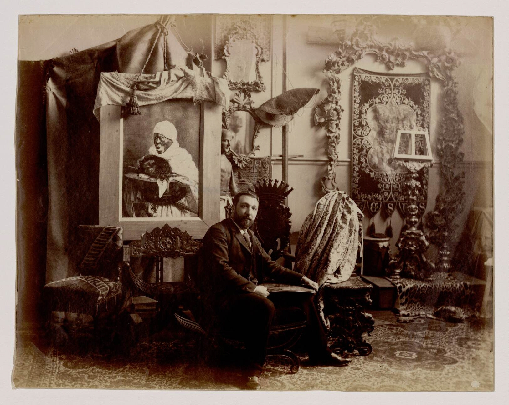18. Джузеппе Синьорини (1857-1932) - итальянский художник