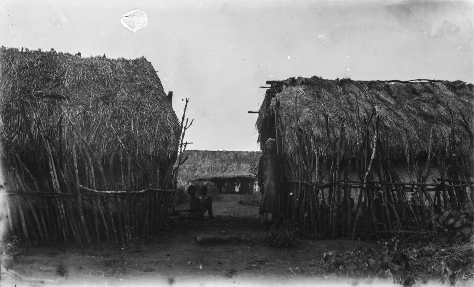 30. Поселение Корогве. Дома, построенные Германским обществом Восточной Африки